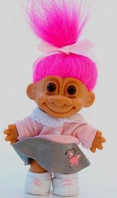 Roze troll