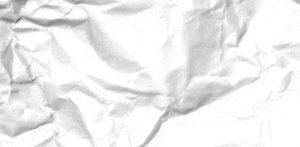 verkreukeld papier